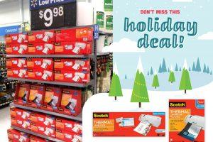 Last Minute Gift Idea at Walmart: Scotch™ Thermal Laminator