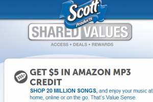 Scott Rewards Amazon 300x200 Amazon Deals: FREE $5 MP3 Credit WY Join Scott Shared Rewards