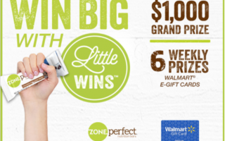 ZonePerfect® Little Wins™ Sweepstakes
