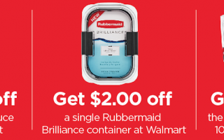 Earn Cash Back on Bertolli® Sauces and Rubbermaid® Brilliance™ Containers at Walmart