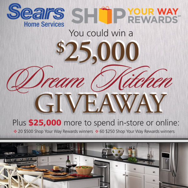 Sears Dream Kitchen Giveaway
