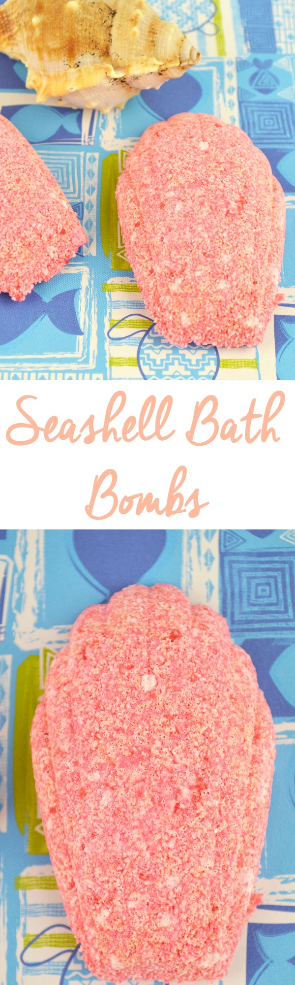 Seashell Bath Bombs - Essential Oils Recipe