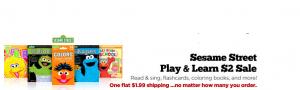 Sesame Street Tanga Deal