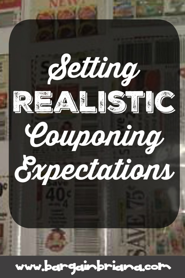 Setting Realistic Couponing Expectations - Learning to Coupon 101