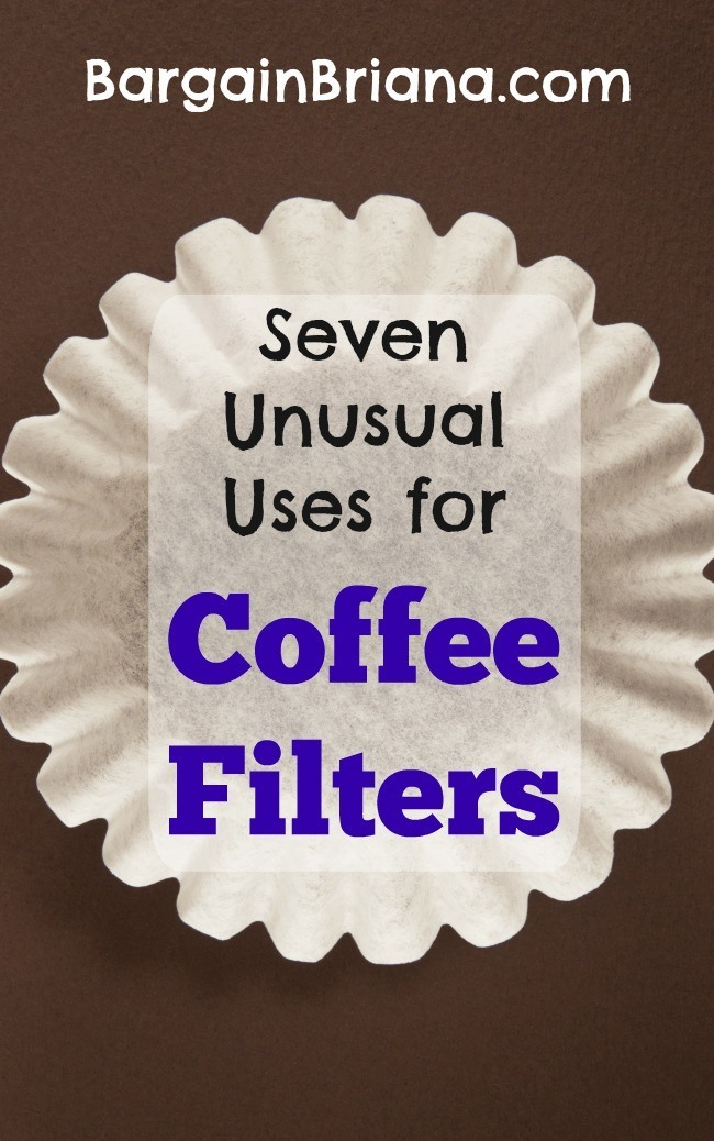 Seven Unusual Uses for Coffee Filters