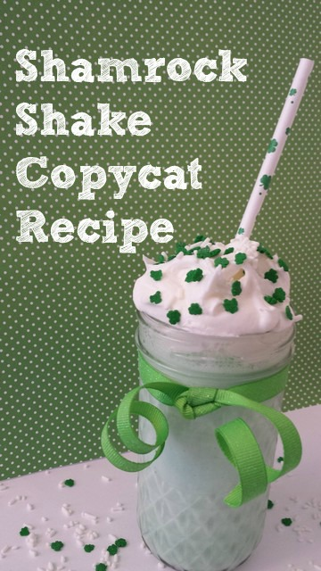 Shamrock Shake Copycat Recipe