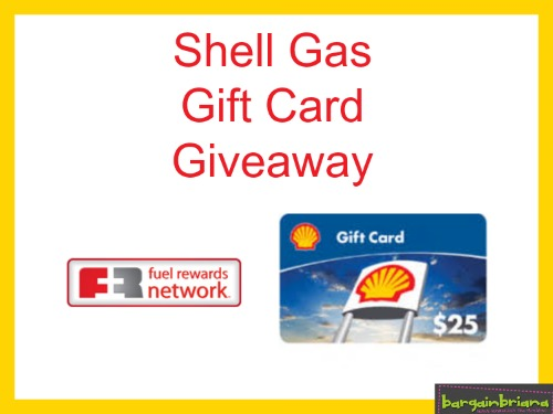 Shell Gift Card Giveaway Ends 6-30