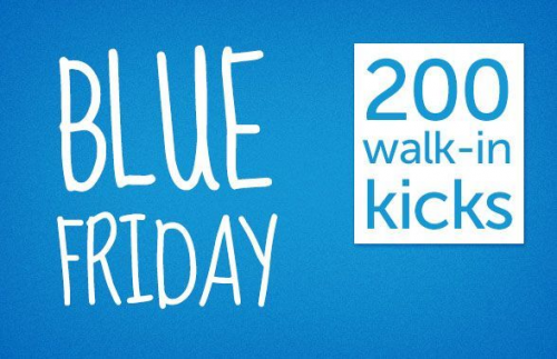 Shopkick Blue Friday – 200 Kicks for Walk-ins + Other Promotions Today