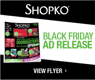 2013 Shopko Black Friday Ad Deals