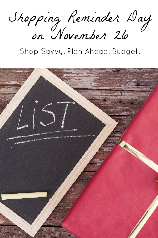 Shopping Reminder Day with Discover