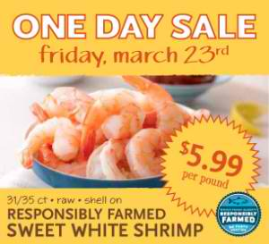 Shrimp Sale Whole Foods
