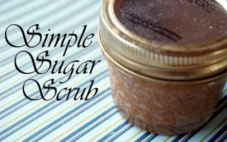 Making a Simple Sugar Scrub