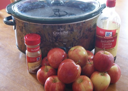 Slow Cooker Apple Butter Gift in a Jar Ingredients