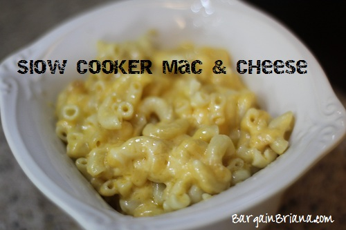 Slow Cooker Three Cheese Macaroni Recipe