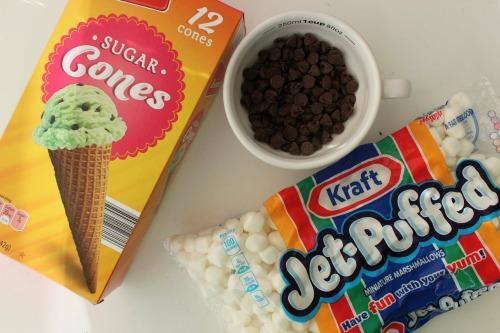 Smores Cones Ingredients