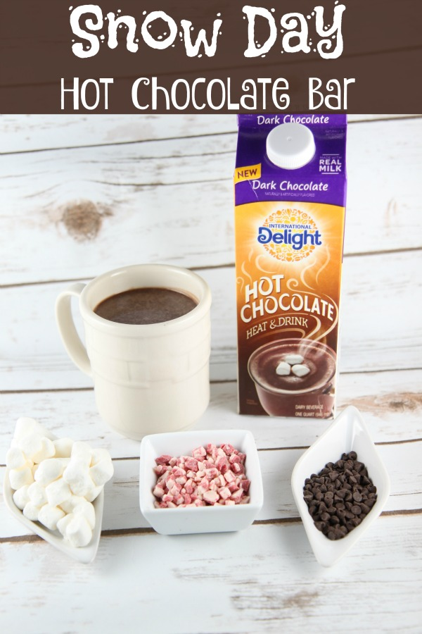 Snow Day Hot Chocolate Bar Idea