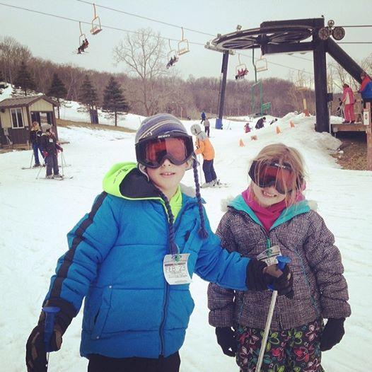 Snow Skiing at Perfect North Slopes
