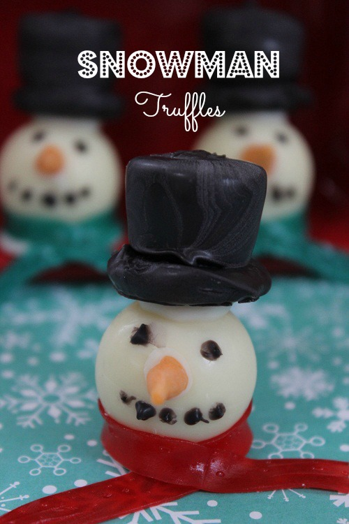 Snowman Truffles Recipe