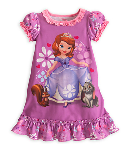 Sofia the First Night Shirt
