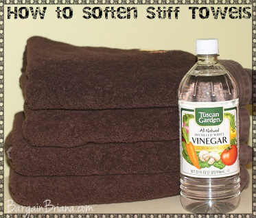 Soften Towels with Vinegar