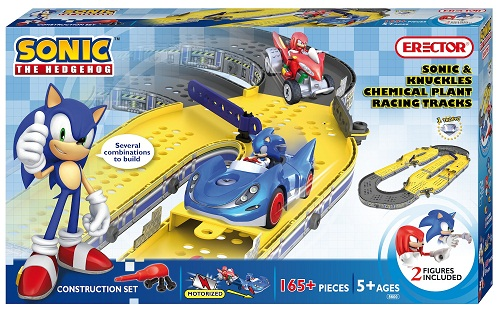 Sonic Erector Set Sonic the Hedgehog Construction Playset from Erector Giveaway | #WinGiveaways