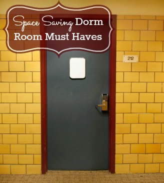 Space Saving Dorm Room Must Haves