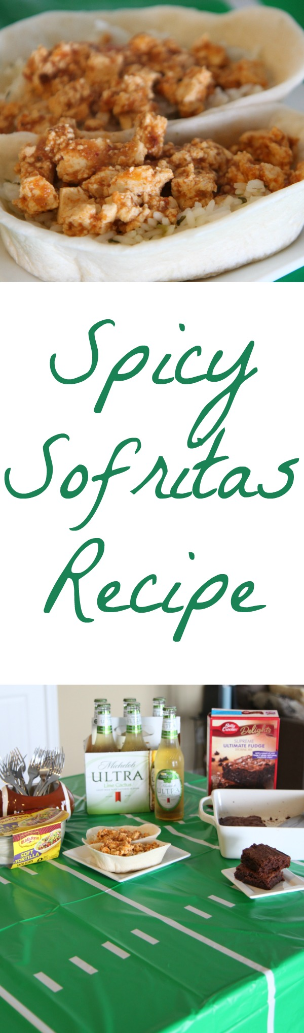 Spicy Sofritas Recipe - Perfect for Game Day Taco Bars