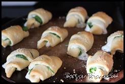 Spinach Mozzarella Crossiants