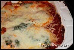 Spinach Polenta Lasagna