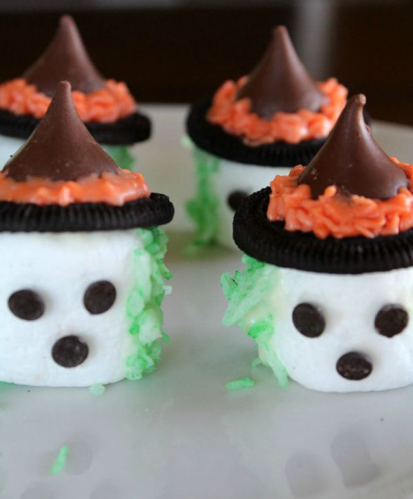 Spooky Marshmallow Witches Step 4