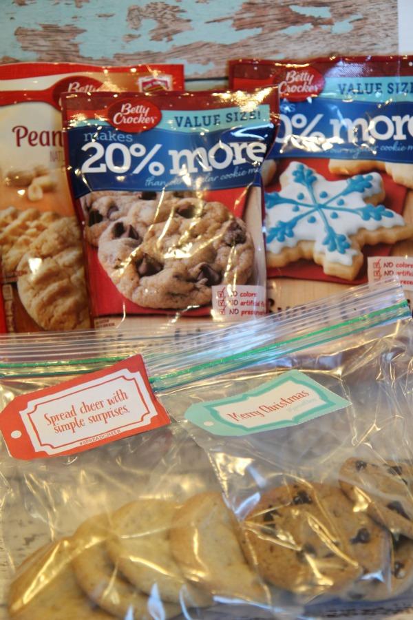 Spread Cheer with Betty Crocker Cookies