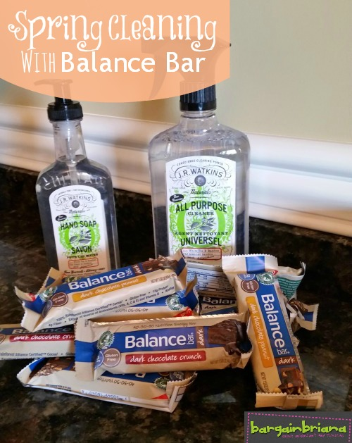 Spring Cleaning with Balance Bar Giveaway