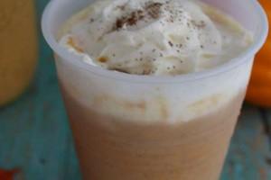 Copycat Starbucks Pumpkin Spice Frapp