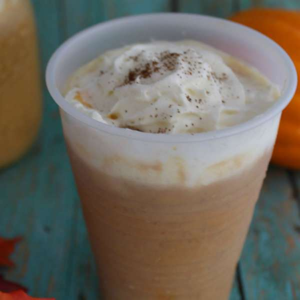 This Copycat Starbucks Pumpkin Spice Frapp recipe can save you quite a bit of money when you make at home this fall. Plus, you can have it anytime you want - no need to wait for pumpkin season!