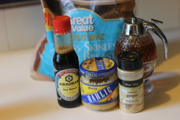Sticky Chicken Ingredients