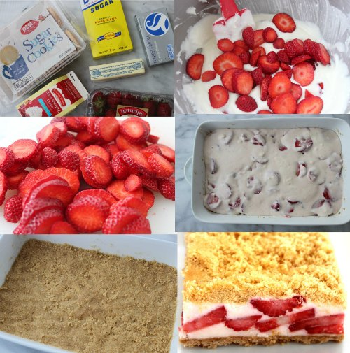 Strawberry Crunch Bars