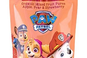 PAW Patrol Super Strawberry Organic Mixed Fruit Pouch, 3.5oz (Pack of 10) Deal