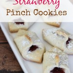 Strawberry Pinch Cookies