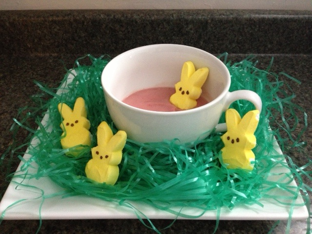 Enjoy a Strawbunny Easter Smoothie