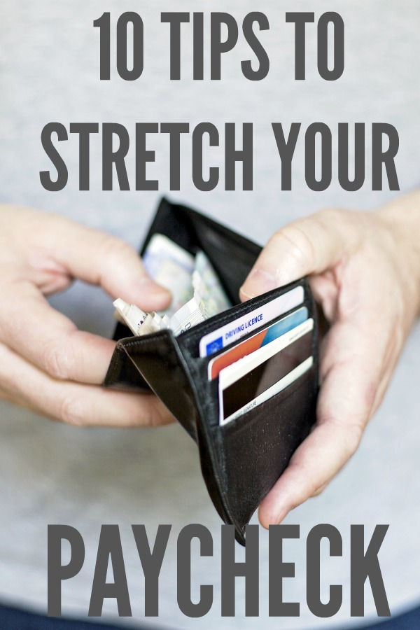 Stretching Your Paycheck