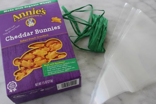 Stuff Needs for Carrot Treat Bags
