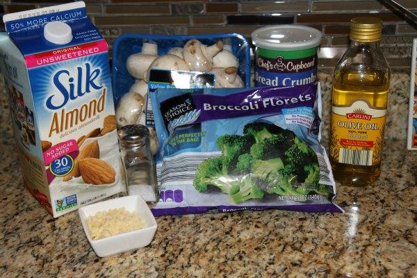 Stuffed Mushrooms Ingredients