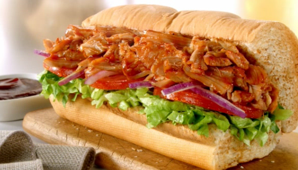 Subway Smokehouse Chicken BBQ