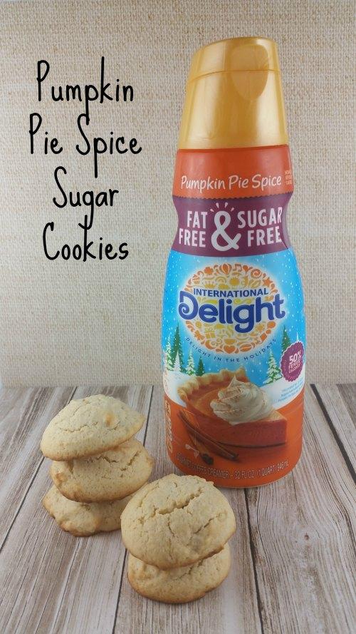 Sugar Cookies Pumpkin Spice
