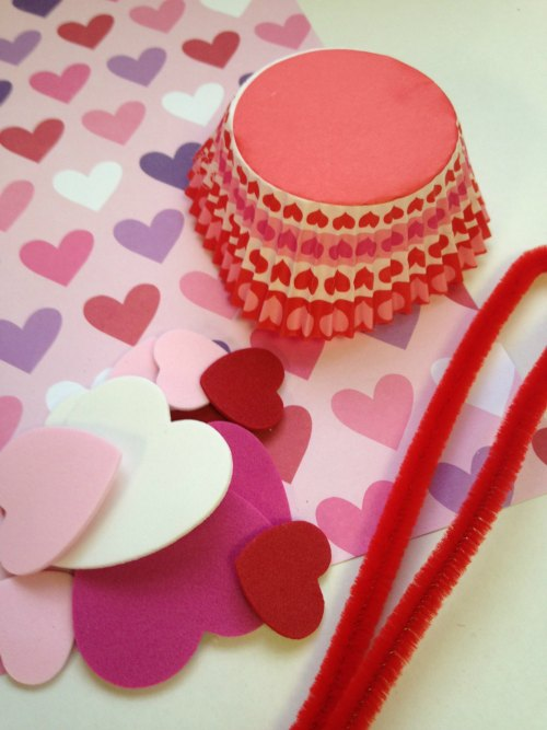 Supplies Need for Valentines Day Treat Baskets
