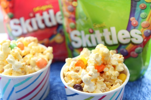 Sweet and Sour Marshmallow Skittles Recipe