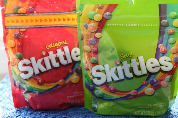 Sweet and Sour Skittles Candy