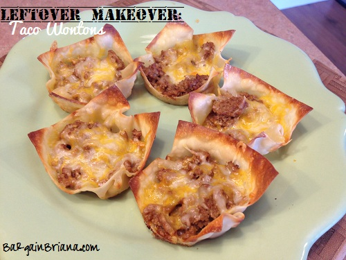 Taco Wantons Leftover Makeovers