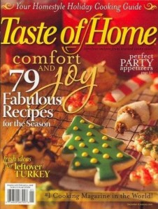 Taste of Home 2 226x300 Taste of Home Magazine Subscription   $0.36/Issue