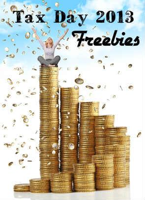 Tax Day 2013 Freebies